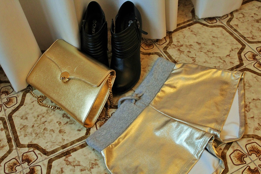 Winter outfit n. 2: Oh my Gold